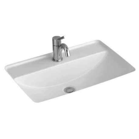 vasque 224 encastrer par le dessous 51635101 villeroy boch