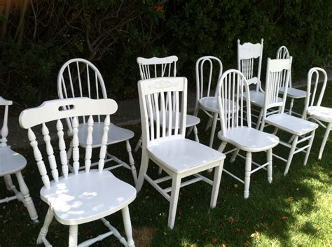 shabby chic dining table melbourne painted chairs mix and match set of 6 dining by thepaintedldy