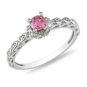 pink engagement ring pink engagement rings 3 8ct e4jewelry