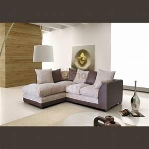 Canapé Angle 2 Places : canap 2 places m ridienne canap d 39 angle design pas cher ~ Teatrodelosmanantiales.com Idées de Décoration
