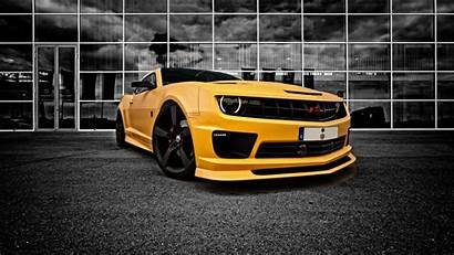 Camaro Yellow Chevrolet Pixelstalk Muscle