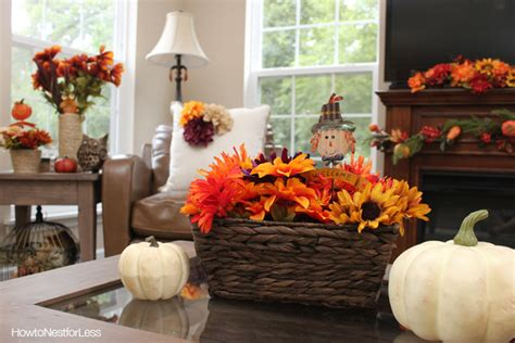 fall decorations for home fall decorating on a budget how to nest for less
