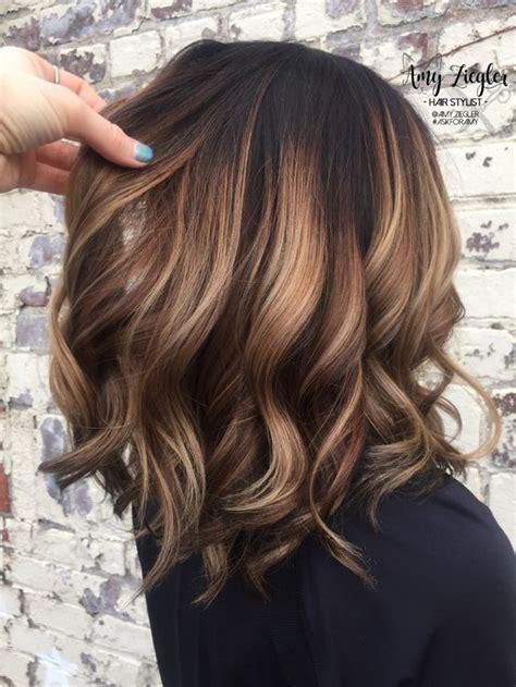 fun summer hair color  brunettes blondes koees blog