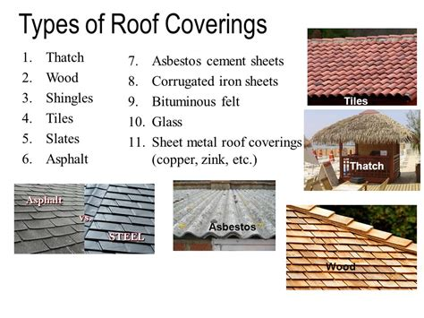 Types Of Floor Covering Ppt by Roofs Ppt
