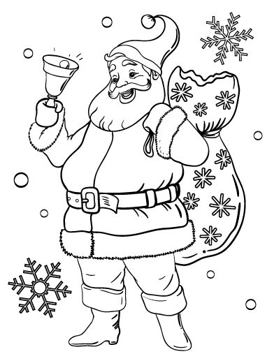 santa claus pictures to color pin by muse printables on coloring pages at coloringcafe