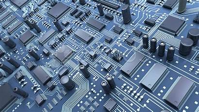 Circuit Board Abstract 3d Technology Animation Cool
