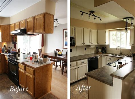 cheap kitchen makeover ideas before and after my cheap diy kitchen remodel 9803