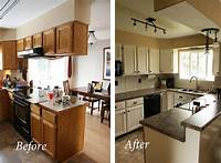 kitchen remodel before and after 40 Kitchen Before and After Remodeling Ideas with Images | Kitchen