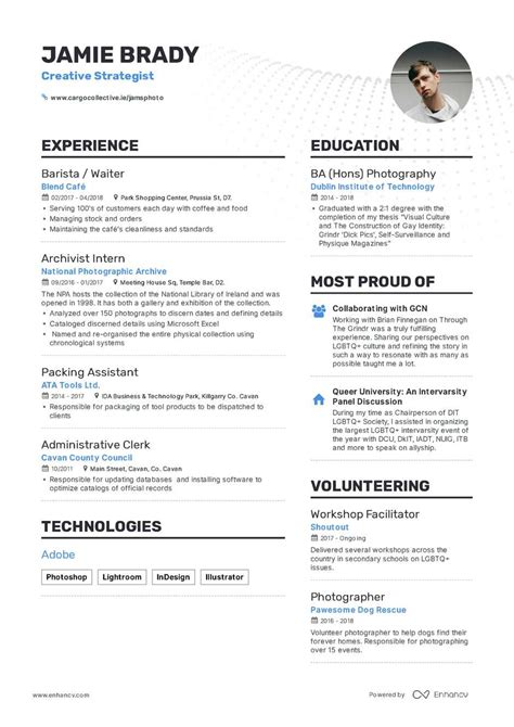 Best Sle Resume Format by The Best 2019 Fresher Resume Formats And Sles