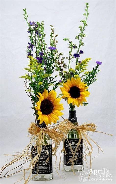 cheerful sunflower wedding centerpiece ideas page