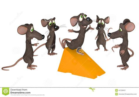 Cartoon Mice Stock Illustration