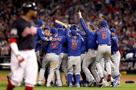 The Chicago Cubs Beat The Cleveland Indians In