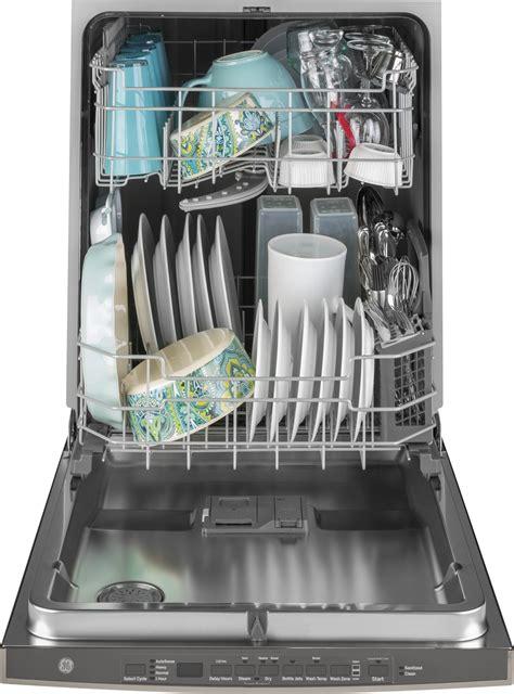 gdphbmts ge  dishwasher dryboost fan bottle jets  db black stainless steel