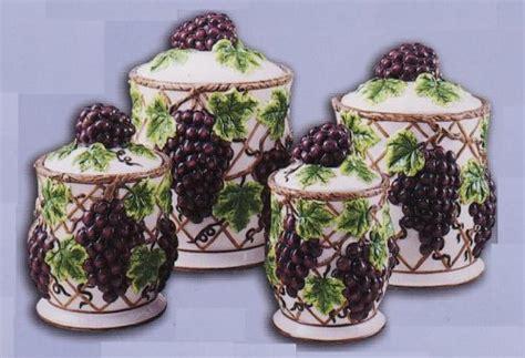 grape kitchen canisters grape vine decorations vine decorations bridal shower