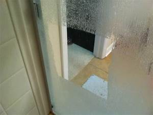 Easiest way to clean glass shower doors soak paper towels for How to clean bathroom with vinegar