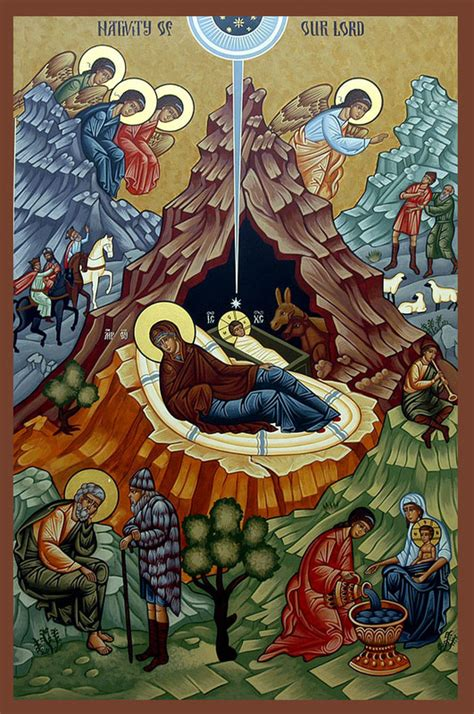 nativity icon explained orthodox road