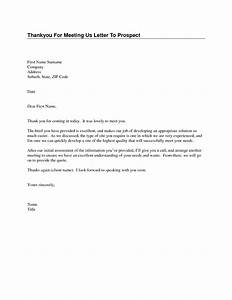 sample thank you letter after first meeting cover letter With thank you for meeting email template