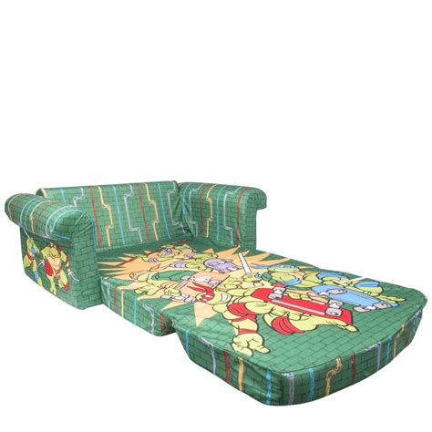 spin master marshmallow furniture flip open sofa tmnt retro