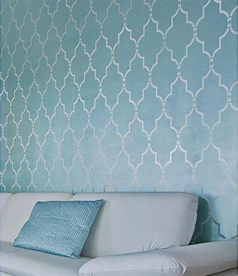 stencil designs for walls marrakech trellis wall stencil reusable stencils for