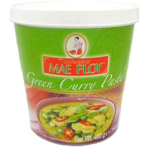 thai kitchen green curry paste ingredients thai green curry paste 400g mae ploy buy 9456