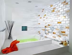 Wand Aus Glasbausteinen : glasbausteine kreative glasw nde und r ckw nde als wandgestaltung ~ Markanthonyermac.com Haus und Dekorationen