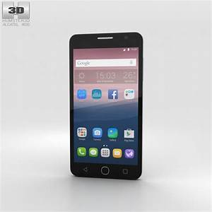 Alcatel Onetouch Pop Star Gray 3d Model