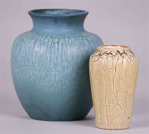 hampshire pottery vases california historical design