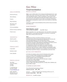 free visual resume templates merchandiser resume template 6 free word pdf documents