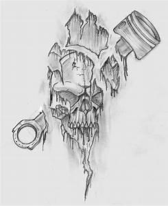 Piston Skull by Shadow3217 on DeviantArt