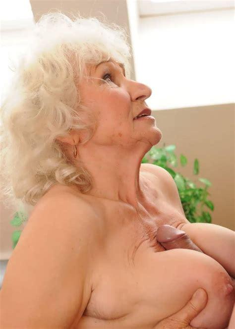 Flat Chested Grandma