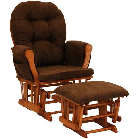 Chocolate Glider And Ottoman by Storkcraft Hoop Glider And Ottoman Oak And Chocolate