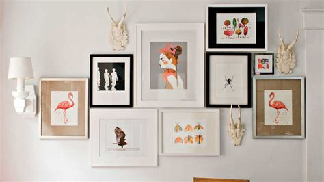Decorating Ideas And Pictures by 4 Tricks For Hanging A Gallery Wall Southern Living