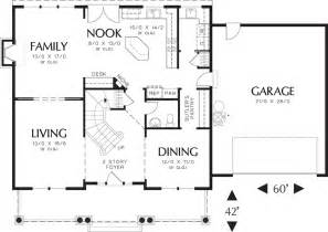 house plans with attached guest house craftsman style house plan 4 beds 2 50 baths 2500 sq ft