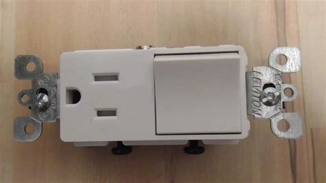 light switch with combo converting a light switch to a switch outlet combo diy