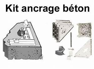Ancrage Poteau Bois : quel support de fixation kit d ancrage choisir pour ses ~ Edinachiropracticcenter.com Idées de Décoration