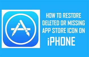 phone icon missing how to restore deleted or missing app icon on iphone