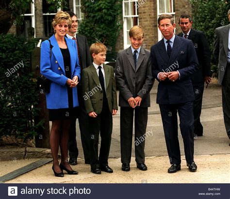 Prince William During His First Day At Eton College In