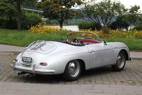 porsche speedster file porsche 356 a speedster 1600 super bj 1956 heck