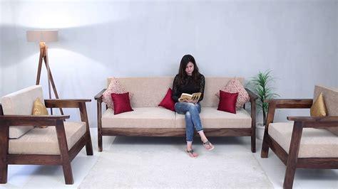 wooden sofa set conan wooden sofa set   india