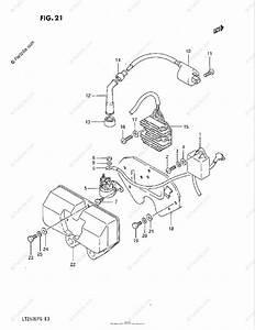 Suzuki Atv 1985 Oem Parts Diagram For Electrical