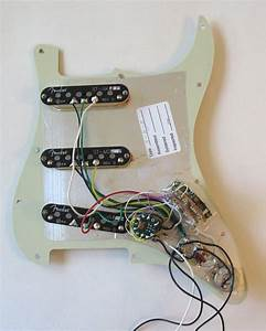 Unique Wiring Diagram Stratocaster Guitar  Diagram