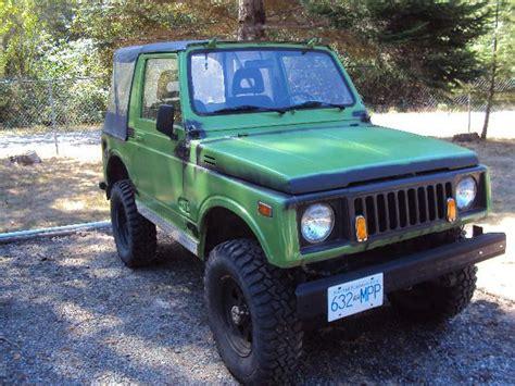 suzuki jimny sj410 1983 suzuki jimny sj410 samurai 4x4 nanoose bay nanaimo
