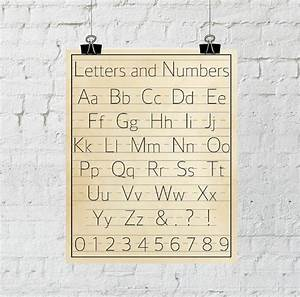 letters and numbers classroom decor vintage alphabet wall With wall numbers and letters