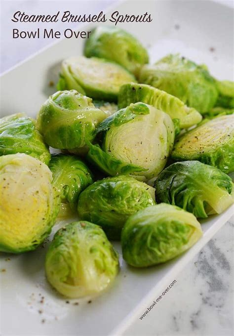 steam brussel sprouts steamed brussel sprouts
