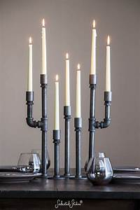 25 great ideas about industrial chic decor on pinterest With kitchen cabinets lowes with metal taper candle holders