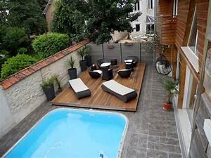 Modele De Terrasse Exterieur : la terrasse mobile de piscine notre avis ~ Teatrodelosmanantiales.com Idées de Décoration