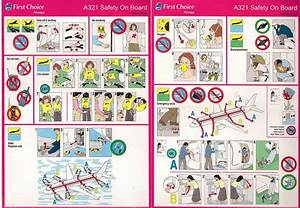 Aeroplane Safety Instructions