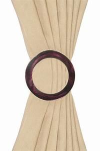 Embrasse Pour Rideaux : embrasse broche rideaux prune diam tre 13 cm acheter ce produit au meilleur prix ~ Teatrodelosmanantiales.com Idées de Décoration