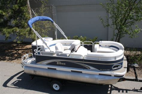 Tahoe Boats Pontoon by New 16 Ft Pontoon Boat By 7 Ft Tahoe Pontoon Boat For