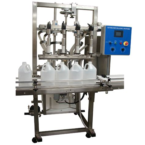 with bottle filler semi automatic overflow filling machine